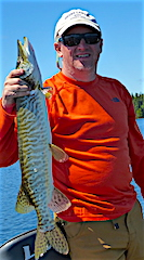 Tiger Muskie Fishing at Fireside Lodge by John
